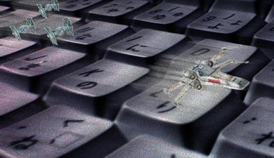 STARWARS, Apple Keyboard