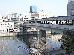 大阪城京橋プロムナード全景
