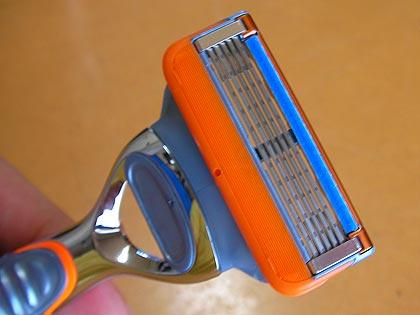 Gilletteの5枚刃