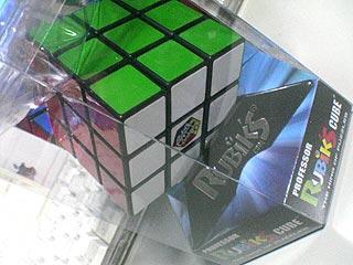 ルービック・キューブのパッケージ