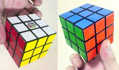 ルービックキューブ六面完成