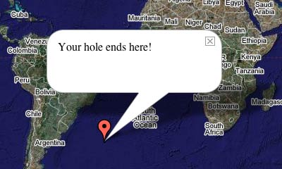 Your hole ends here!