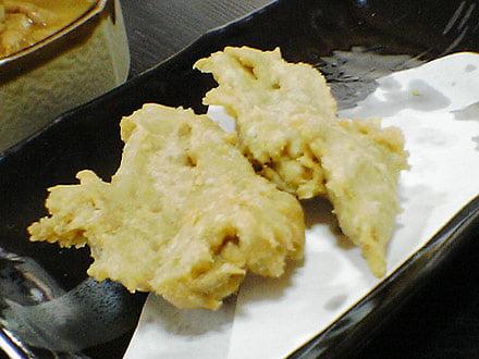 そばがきの天ぷら
