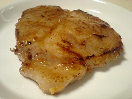 豚肉の味噌漬けステーキ