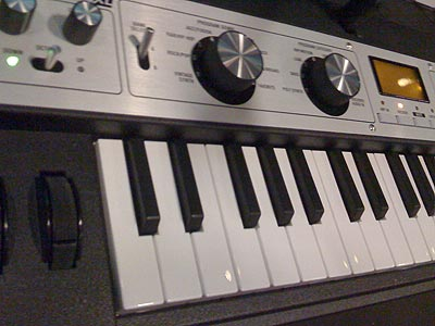 microKORG XL クローズアップ
