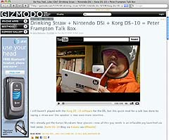 GIZMODO TalkBox DS-10
