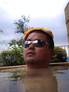 グラサン温泉 2008