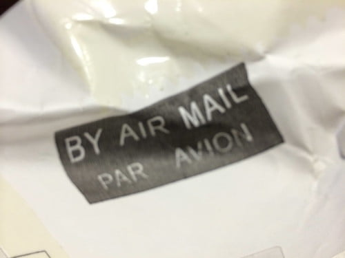 BY AIR MAIL JMT 移動プロ