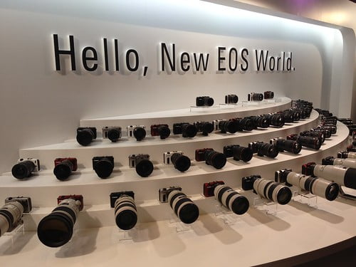EF Lens and EOS M